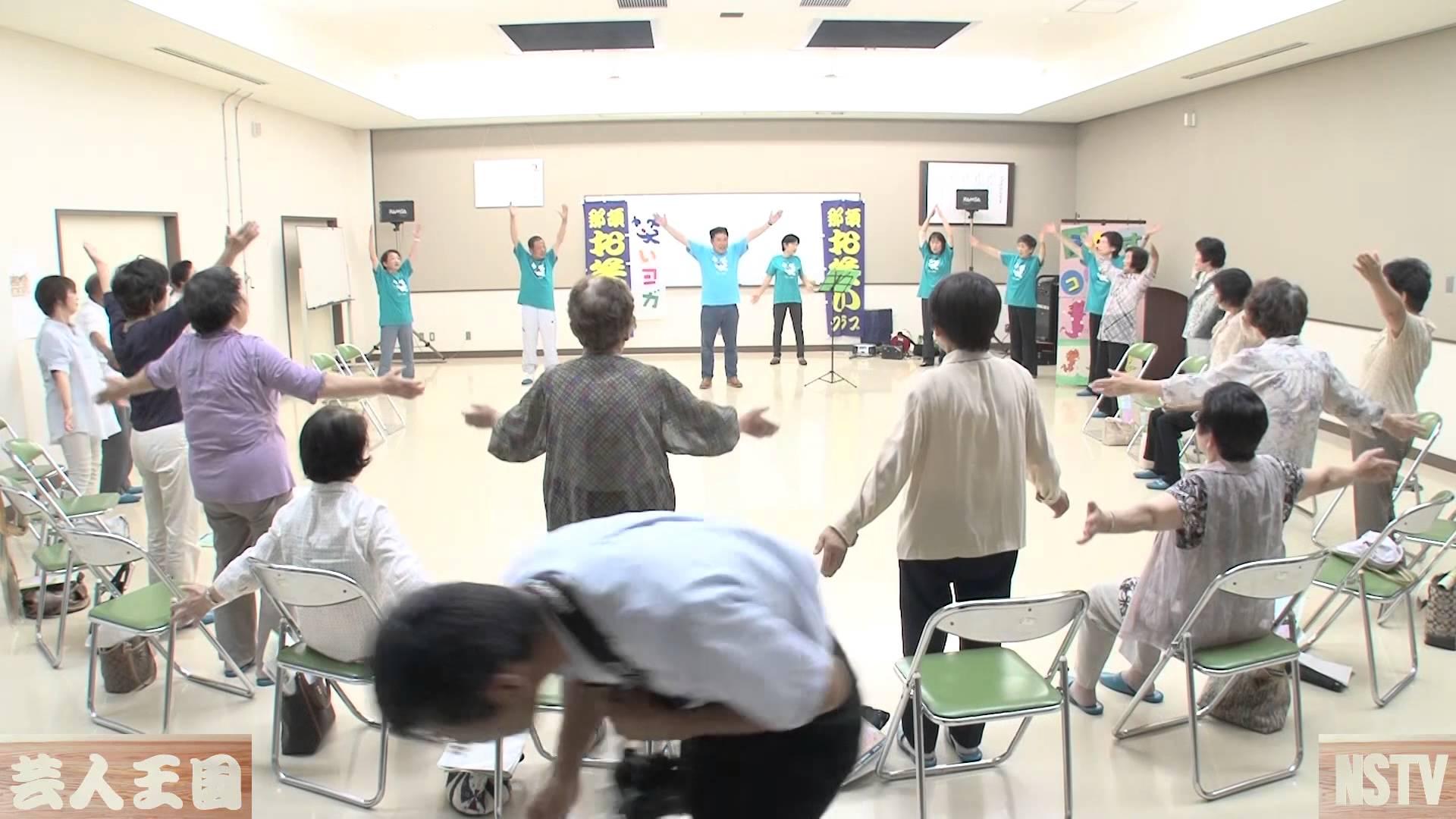 佐久山地区「健康講話」2014年6月(2)[芸人王国]