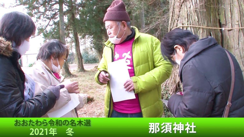 大田原冬の名木ハイキング~那須神社2021年1月15日