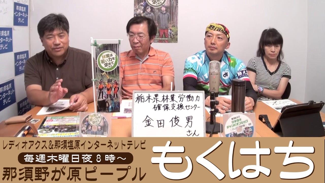 栃木県林業労働力確保支援センター金田俊男さん:もくはち