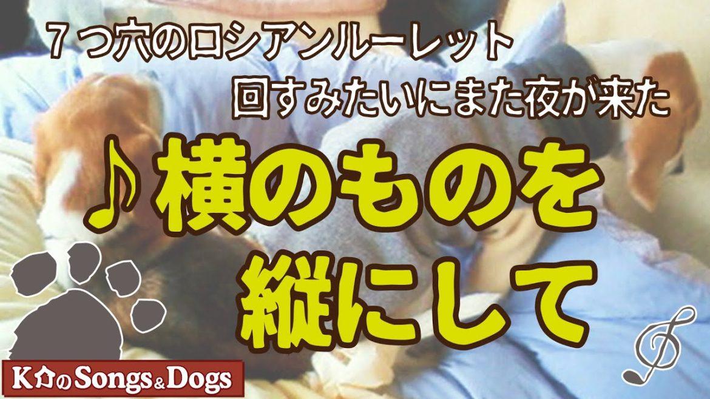 ♪横のものを縦にして : K介のSongs&Dogs週末はミュージシャン